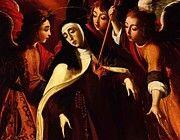 "New artwork for sale! - "" Transverbera O De Santa Teresa 1672 by de Obidos Josefa "" - http://ift.tt/2juzAX1"