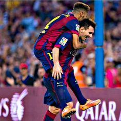 24/09 Neymar x Messi partnership