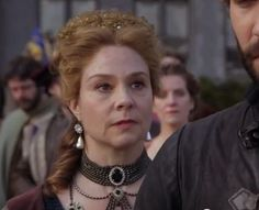 Megan Follows as Queen Catherine. She's my favorite charactor in this show!