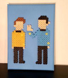 Star Trek Perler Pixel Art by ThePixelArtShop