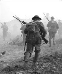 Soldier at the Battle of the Somme