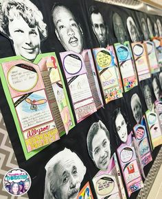 Obsessing over these adorable biography projects from Her students used super … – Science Time 3rd Grade Social Studies, Teaching Social Studies, Teaching History, Teaching Writing, Social Studies Projects 5th, Social Projects, Social Studies Classroom, Social Studies Activities, History Education