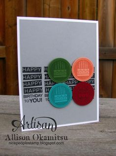 Super Simple Amazing Birthday by AllisonStamps! - Cards and Paper Crafts at Splitcoaststampers