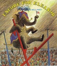 Encore for Eleanor, vintage children's book, Bill Peet