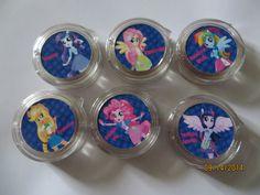 (12) Equestria Girls LIP GLOSS Balm My Little Pony birthday party favor