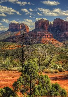 """Sedona, Arizona - """"New View at Cathedral Rock"""" - Tom Lussier Photography Places To Travel, Places To See, Monument Valley, Voyager C'est Vivre, Sedona Arizona, Arizona Usa, Arizona Travel, All Nature, Parcs"""