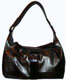 Simply Vera Vera Wang Purse Handbag Silver/Black
