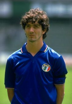 Portrait of Paolo Rossi the Italian Centre Forward during a Summer tour of  Mexico.   bbdb59475e6ea