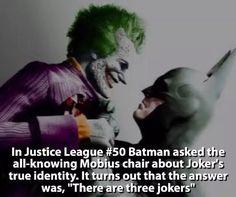 Batman/Joker fact