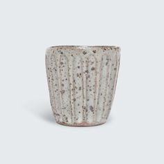 Beautiful hand-built ceramic beaker by Katia Carletti.