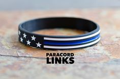 Show your #patriotism and support for law enforcement in one bracelet . Get your Stars and Stripes bracelet today.  Always the Best! www.paracordlinks.com#badassery #dope #gun #guns #fitness #firearms #silicone #usa #tbl #tacticalgear #edc #new #Paracord #military #gear #fashion #tactical #survival #epic #badass #thinblueline #beastmode #merica #mensgear #leo #police #cop #cops #policeofficer