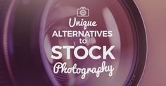Need awesome visuals for your content marketing or social media marketing? Here are 5 alternatives to stock photography that you can use!