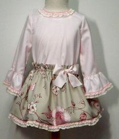 Vestido para bebe niña.