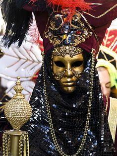 Beautiful Venetian-Mask