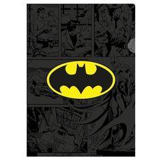 Pasta em L Batman DC Comics - 31 x 22 cm