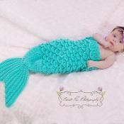 Under the Sea Mermaid Photo Prop - via @Craftsy Making a costume for Baby Meilani. She's not here yet but any day now.