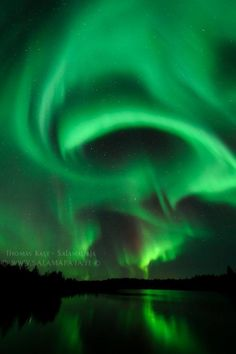 Even the Northern Lights got into the spirit of Halloween!