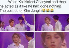 The best actor, Kim Jongin♡