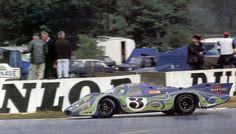 Le Mans 1970. Porsche 917LH , Larrousse / Kauhsen.