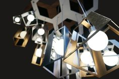 Lantern Helix, Detail #gold #design