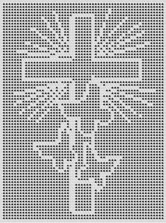 손뜨개~도안및자료실 | BAND Crochet Patterns Filet, Crochet Cat Pattern, Crochet Lace Edging, Crochet Cross, Afghan Crochet Patterns, Thread Crochet, Crochet Doilies, Free Crochet, Crochet Solo
