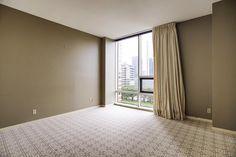 Spacious Master Bedroom with Designer Carpet, Paint and Draperies!  Storage closet.