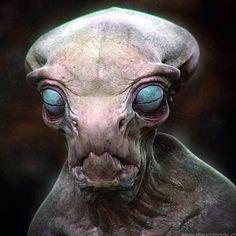 Alien Big Eyes by glaucolonghi on DeviantArt Alien Character, Character Design Cartoon, Character Art, Les Aliens, Aliens And Ufos, Alien Creatures, Fantasy Creatures, Strange Creatures, Disney Big Hero 6