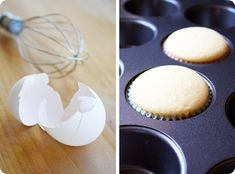 Cupcakes for Two; you dont have to make a whole batch, just two cupcakes! Cupcake Recipes, Cupcake Cakes, Dessert Recipes, Single Cupcake Recipe, Gourmet Cupcakes, Baking Recipes, Healthy Recipes, Köstliche Desserts, Delicious Desserts