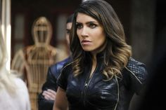 """""""All for Nothing"""" -- Image Number: -- Pictured: Juliana Harkavy as Dinah Drake/Black Canary -- Arrow Black Canary, White Canary, Supergirl 2015, Supergirl And Flash, Arrow Season 6, Dinah Drake, Black Siren, David Ramsey, Manu Bennett"""