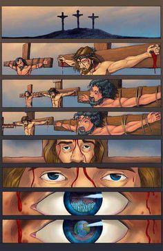 Porque DEUS amou o mundo... ...De Tal maneira... (Jo 3:16)