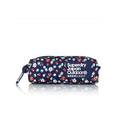 Pencil Case (€21) ❤ liked on Polyvore featuring home, home decor, office accessories, navy daisy, superdry, fabric pencil case, zipper pencil pouch, zipper pencil case and zip pencil case