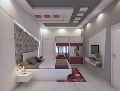 Image may contain: indoor Drawing Room Ceiling Design, House Ceiling Design, Ceiling Design Living Room, Bedroom False Ceiling Design, Luxury Bedroom Design, Bedroom Closet Design, Bedroom Furniture Design, Home Room Design, Best False Ceiling Designs