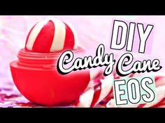 DIY Candy Cane EOS LIP BALM! - YouTube