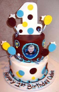 1st birthday cake idea