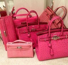 Pink Hermes Birkins