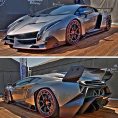 Lamborghini Veneno... looks like a Decepticon out of Transformers!!