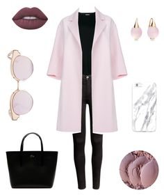 """""""sunny winter day"""" by nannaef ❤ liked on Polyvore featuring H&M, Vince, Paul Smith, Lacoste, Lime Crime, Le Specs and Pomellato"""