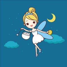 Cartoon tooth fairy vector material 07 - https://www.welovesolo.com/cartoon-tooth-fairy-vector-material-07/?utm_source=PN&utm_medium=welovesolo59%40gmail.com&utm_campaign=SNAP%2Bfrom%2BWeLoveSoLo