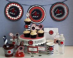 Hostess with the Mostess® - 4th of July Printable Collection