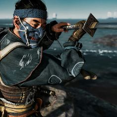 Pose Reference, Drawing Reference, Ghost Of Tsushima, Japanese Aesthetic, Samurai Warrior, Poster S, Concept Art, Video Games, Character Design