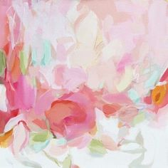 Pretty in PInk Paintings. This one by Christina Baker.