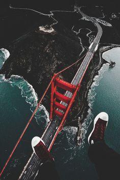 ikwt:  The Golden Gate from Above (jude_allen) |instagram