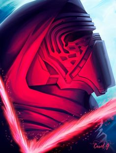Continuation of Star Wars illustration that I made. I confess that I worked well in this art because I love Kylo Ren Used equipments: Photoshop CC 2015 . Star Wars Icons, Star Wars Art, Luke Skywalker, Chewbacca, Kylo Ren Fan Art, Star Wars Painting, Star Wars Kylo Ren, Star Wars Images, Cool Artwork