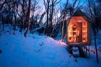 fragile house - Sapporo Art Forest, Sapporo Hokkaido Japan