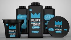 DUUUD´S Yoghurt (Concept) on Packaging of the World - Creative Package Design Gallery