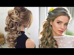 The Most Popular and Elegant wedding Hairstyles Tutorials Of 2017 - YouTube