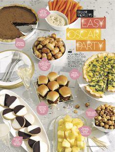 Oscar party menu ideas