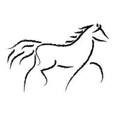 original clipart by Cassandra Mitchell at Coroflot.comon pretty horse inspirati