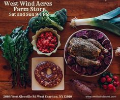 What are you feasting on this Christmas?  We have a great selection of grass-fed beef and lamb along with pasture raised chicken and pork.  Stop in from 9-1 today. . . . . . . #nyfarms #farmtotable #westwindacres #artisanmeat #grassfedbeef #pastureraisedpork #grassfedlamb #meatCSA #meatsubscription #meat #healthymeats #natural #nonGMO #healthy #healthyfood #foodporn #farmstore  #instagood #delicious #GMOfree #farm #countrylife #healthysaratoga #countryliving #saratogasprings #enjoytroy…