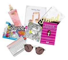 bag ODM by chloeogrady1 on Polyvore featuring polyvore fashion style Oliver Peoples Happy Plugs Casetify Victoria's Secret Sharpie clothing
